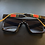 Thumbnail: Classy Vintage Style Sunglasses- Red & Green Arm