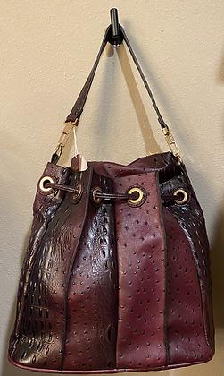 Plum Handbag 2 Piece Set