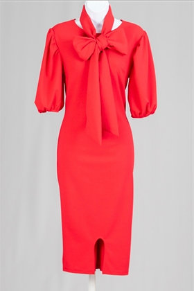 Dress in Love The Red Dress Midi Dress
