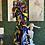 Thumbnail: Authentic African Print Mermaid Print Dress