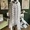 Thumbnail: White Sheer Circle Pattern Dress