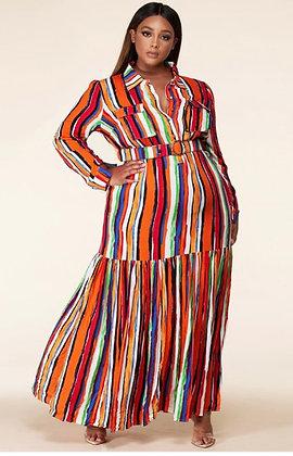 Multi Color Maxi Dress