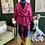 Thumbnail: Black Girl Multi Color Pleated Skirt