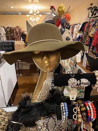 Diamond Wool Hat