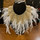 Thumbnail: Feather Pearl Bib Necklace