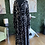 Thumbnail: Sheer Sleeve Maxi Dress With A Touch of Silver