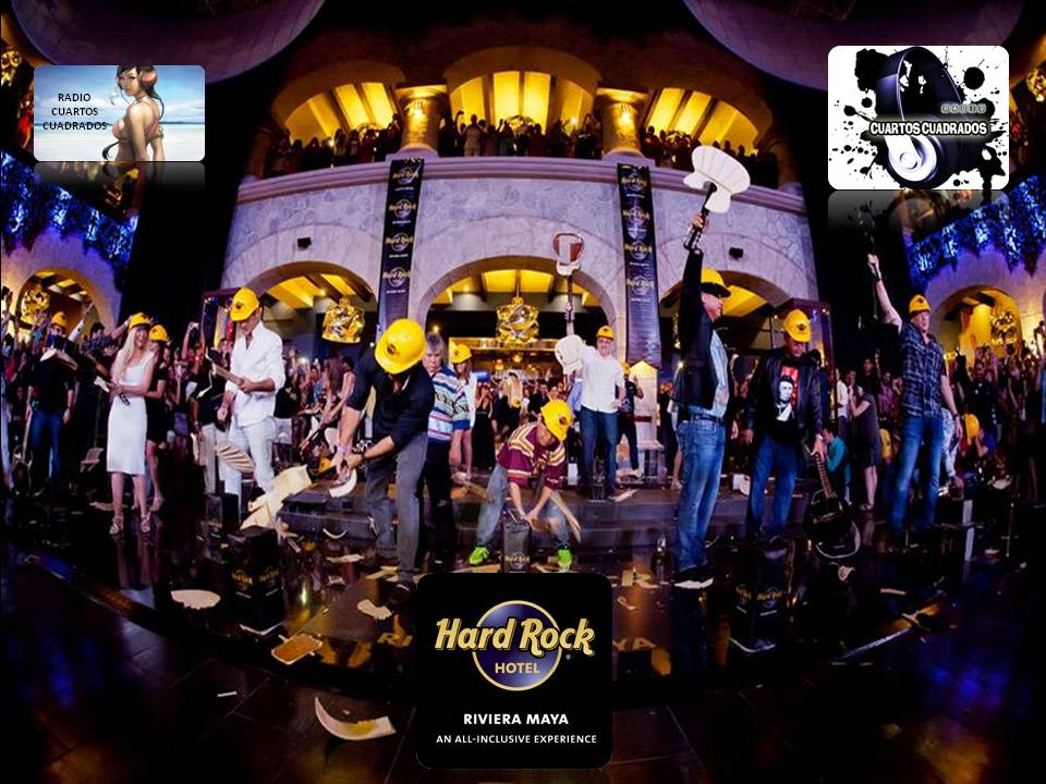 APERTURA DE HARD ROCK CAFE HOTEL RIVIERA MAYA  CONCIERTO DE JON BON JOVI