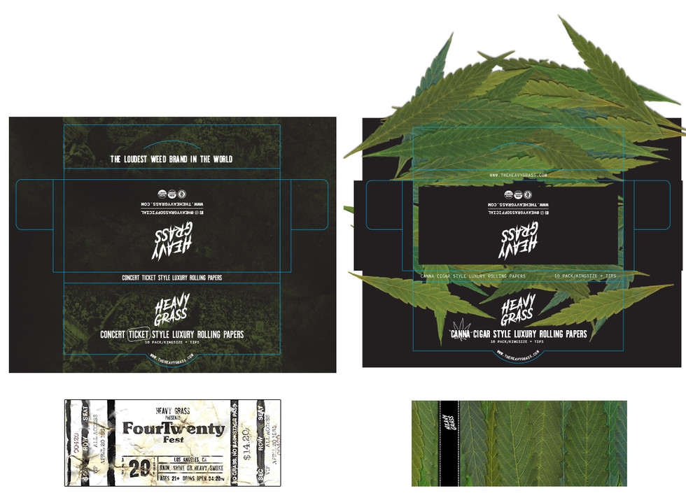 Rolling Papers Small Boxes and Papers.jp