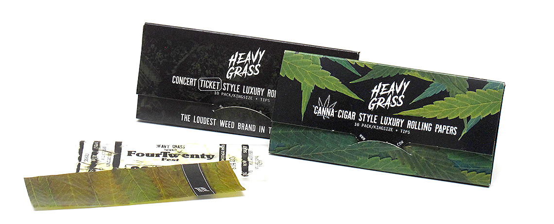 Canagar And Ticket Rolling Papers Image.