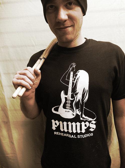 Pumps Rearsal Studios T-shirt