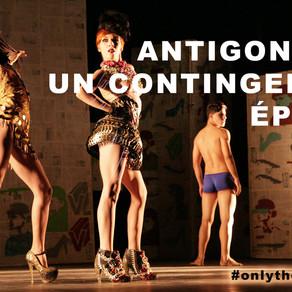 Είδα την Θεατρική Παράσταση ANTIGONÓN, UN CONTINGENTE ÉPICO (ΚΟΥΒΑ)