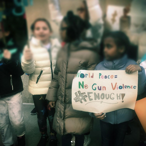 Students rally in solidarity to end gun violence