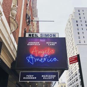 I saw Angels in America on Broadway