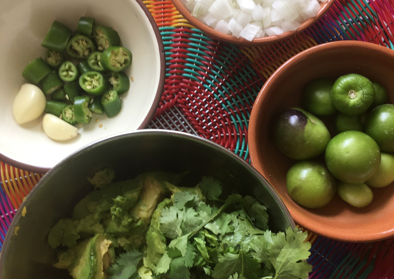 ready for salsa making