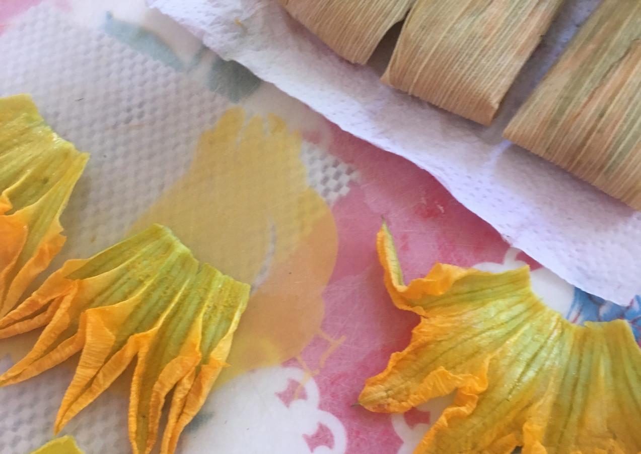 flor de calabasa tamales