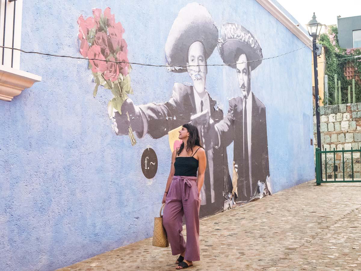 Street art in Oaxaca