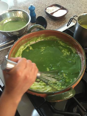 Hands on cooking class- mole verde