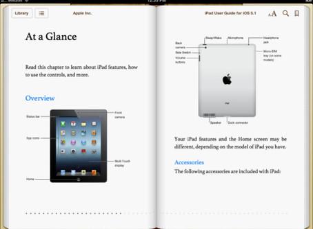 New iPad?  Where's The Darn Manual?