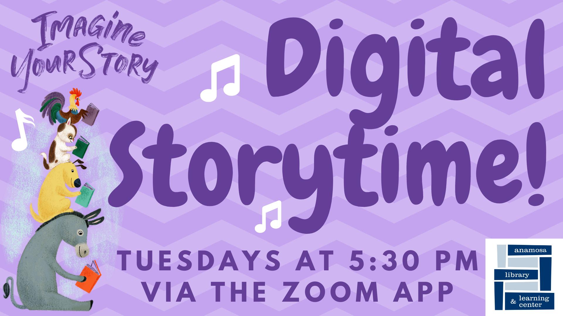 Digital Storytime! (Tues)