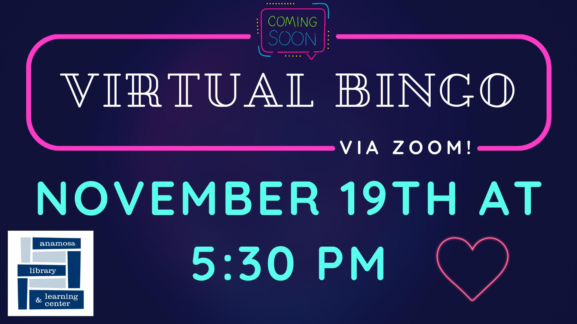 Virtual BINGO - Nov