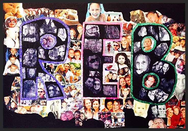 Le collage de Rebecca
