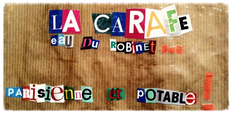 Étiquette de La Carafe