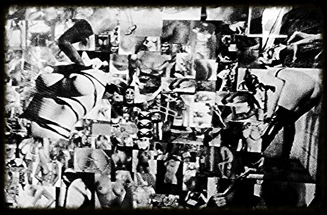 Le Cul en noir et blanc
