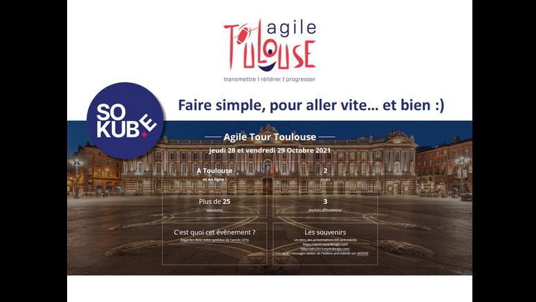 SoKube acteur de l'évènement Agile Tour Toulouse 2021