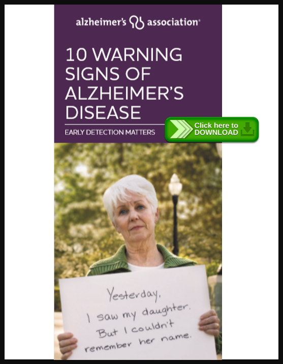 10 Signs of Alzheimer's