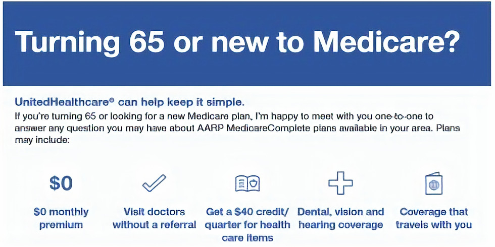 Turning 65 or New to Medicare