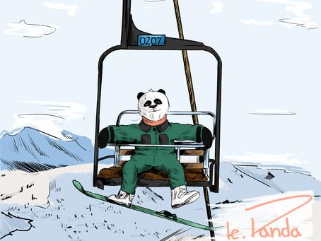 Quand le.Panda ride all day...