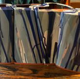 Puzzle Vases (blue)