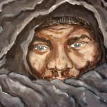 Man Under Wrap