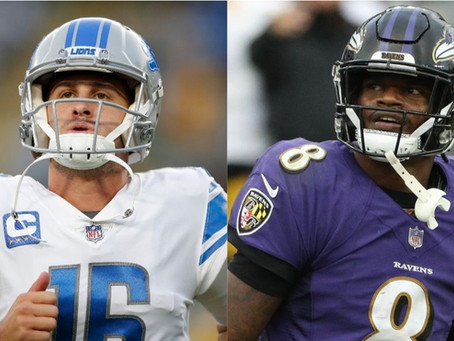 Previewing 2021 Week 3 - Ravens @ Lions