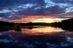 Sunset on Lake 3