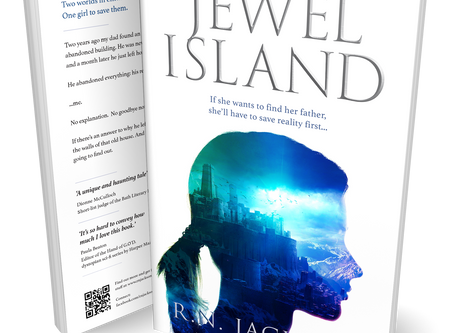 Cover reveal for Jewel Island
