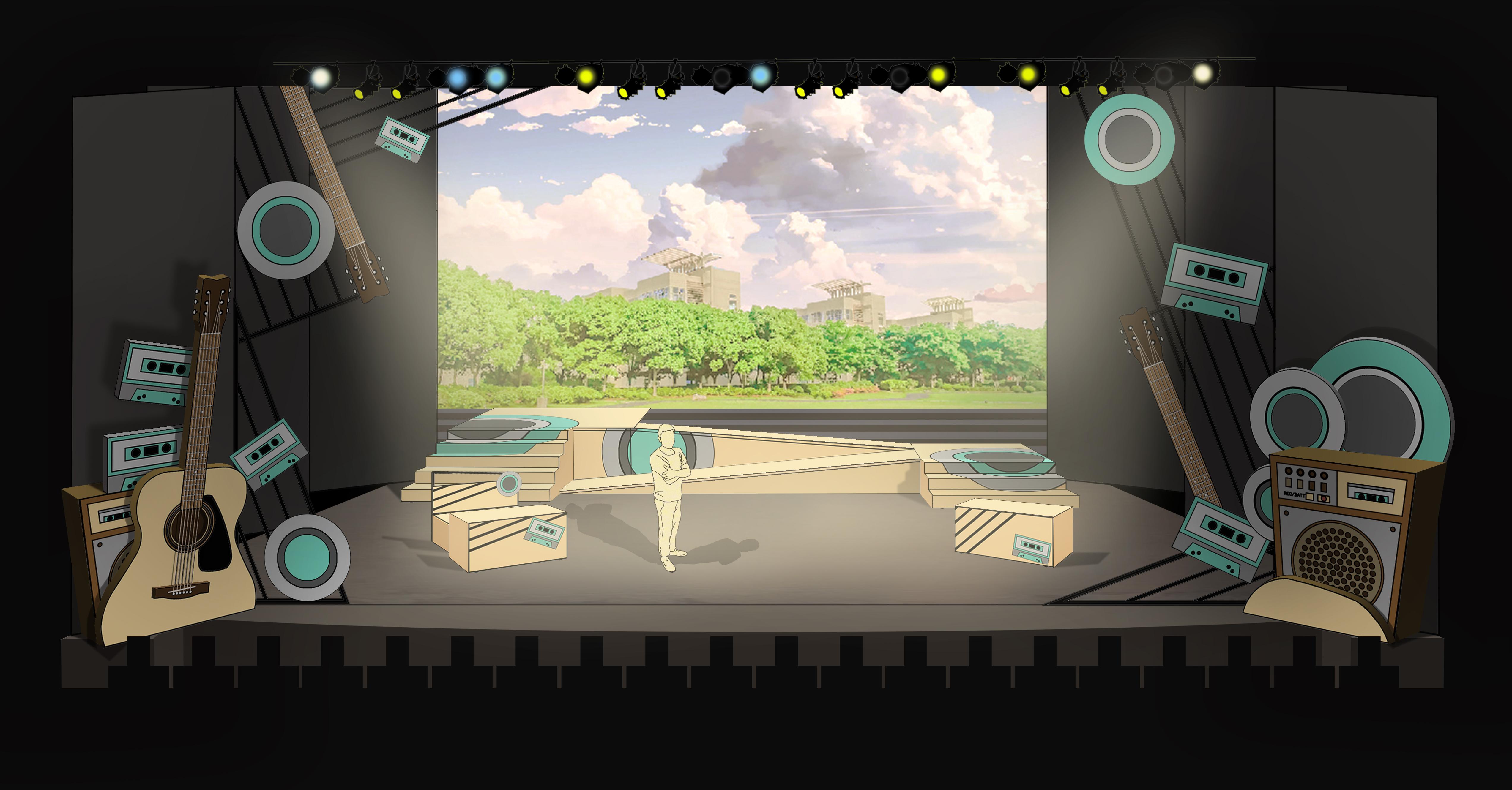 Rendering Scene 5