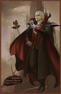 Character: Dracula (Upgraded)