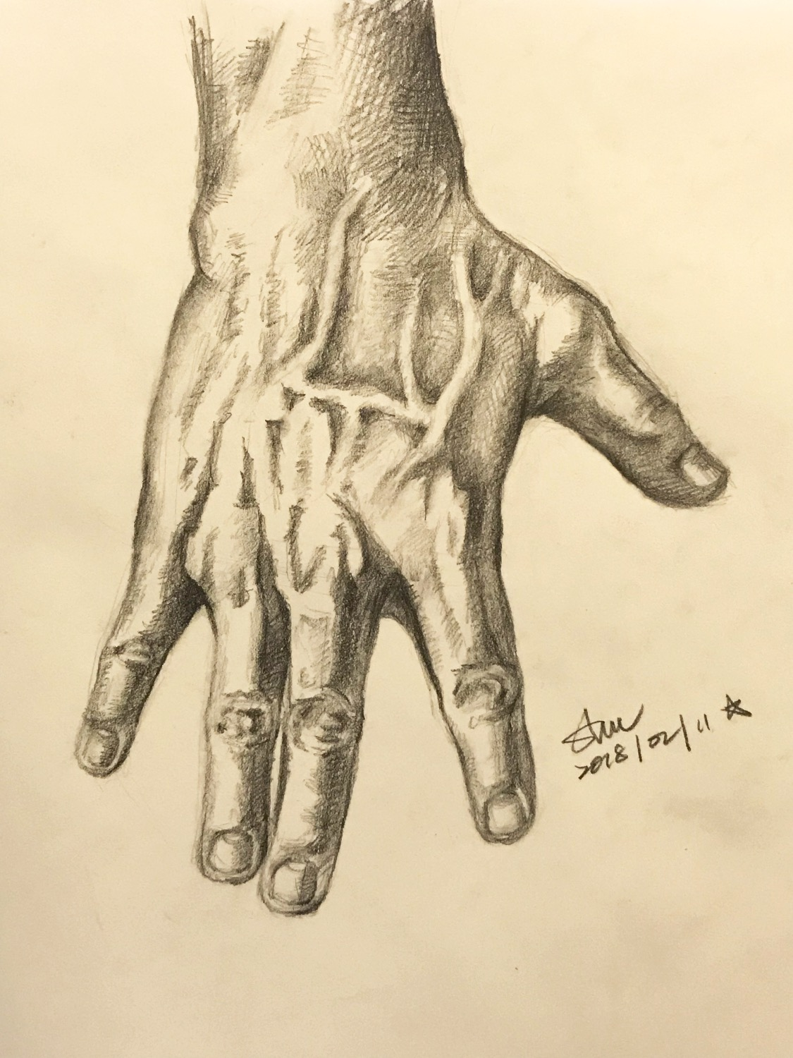 Sketch for Hand