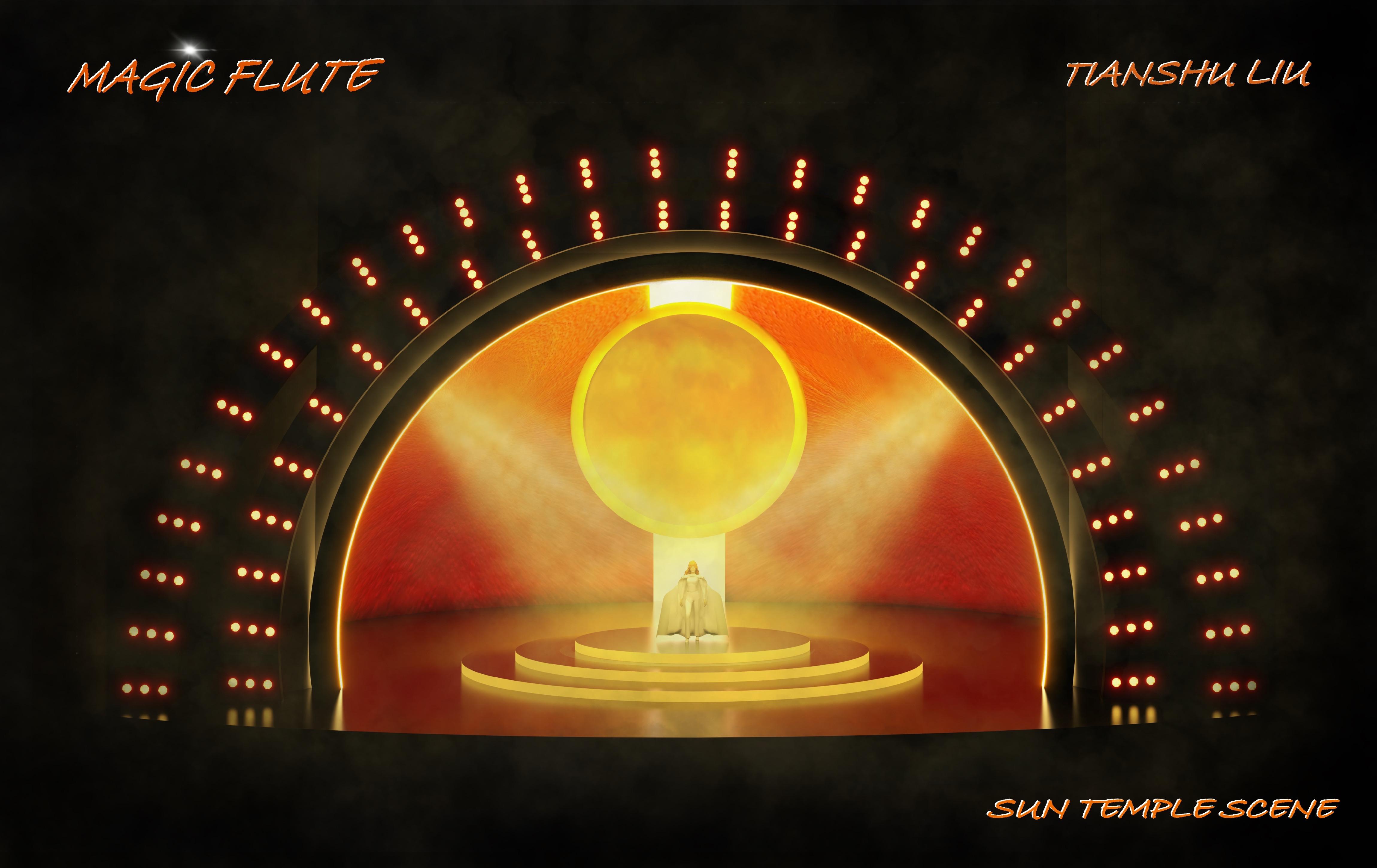 The Sun Temple Scene