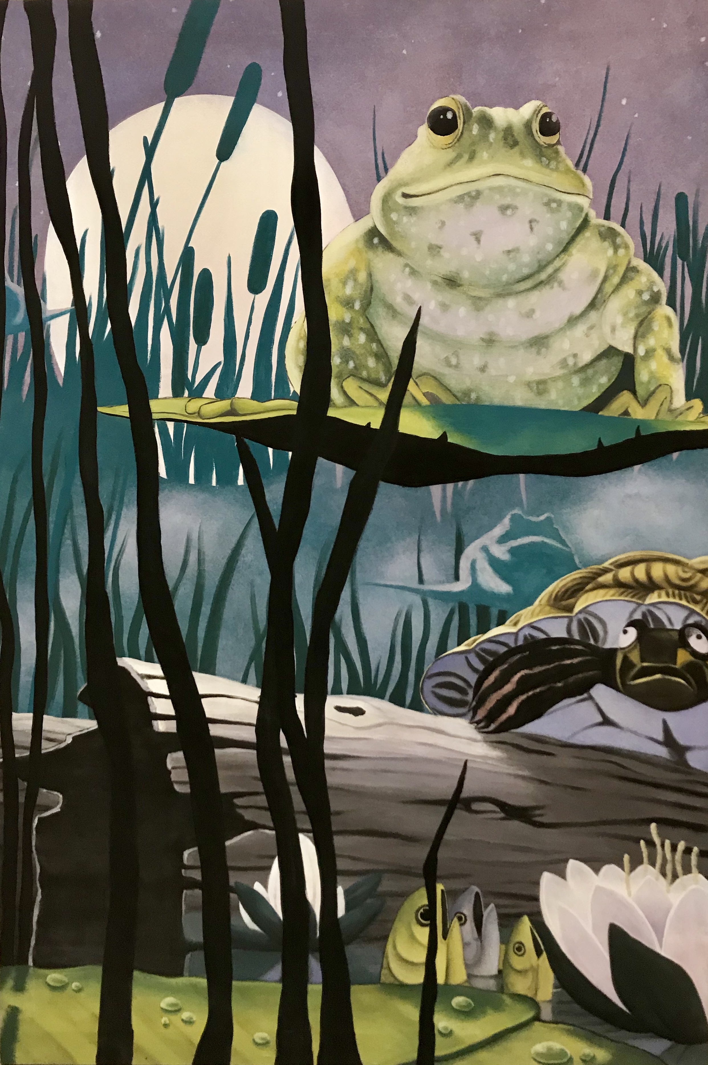 Scenic Painting (size 4'*6')