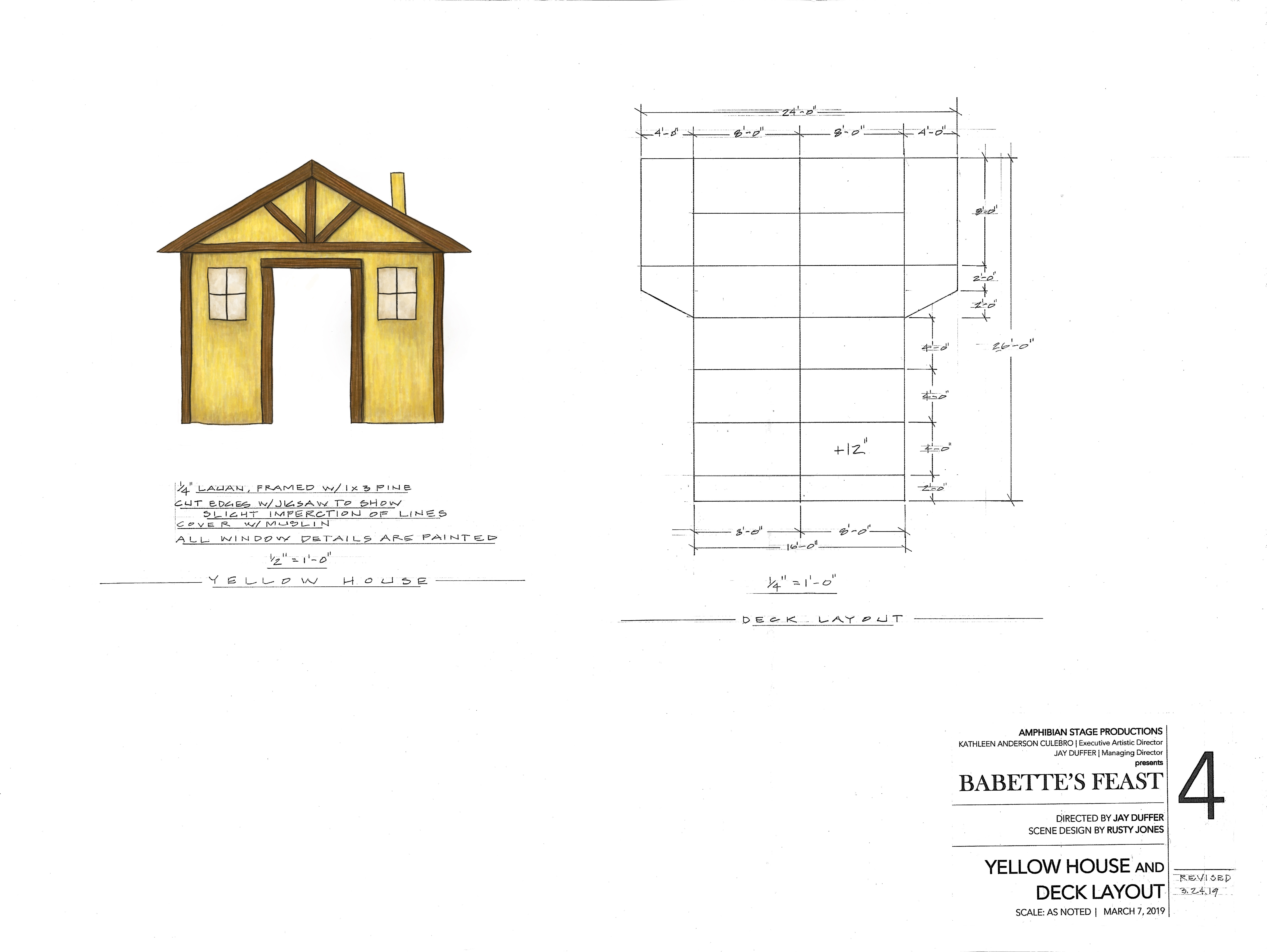 Painter Elevation of Yellow House