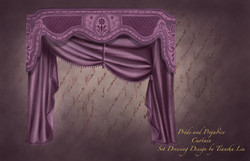 Curtain Design for Pride & Prejudice