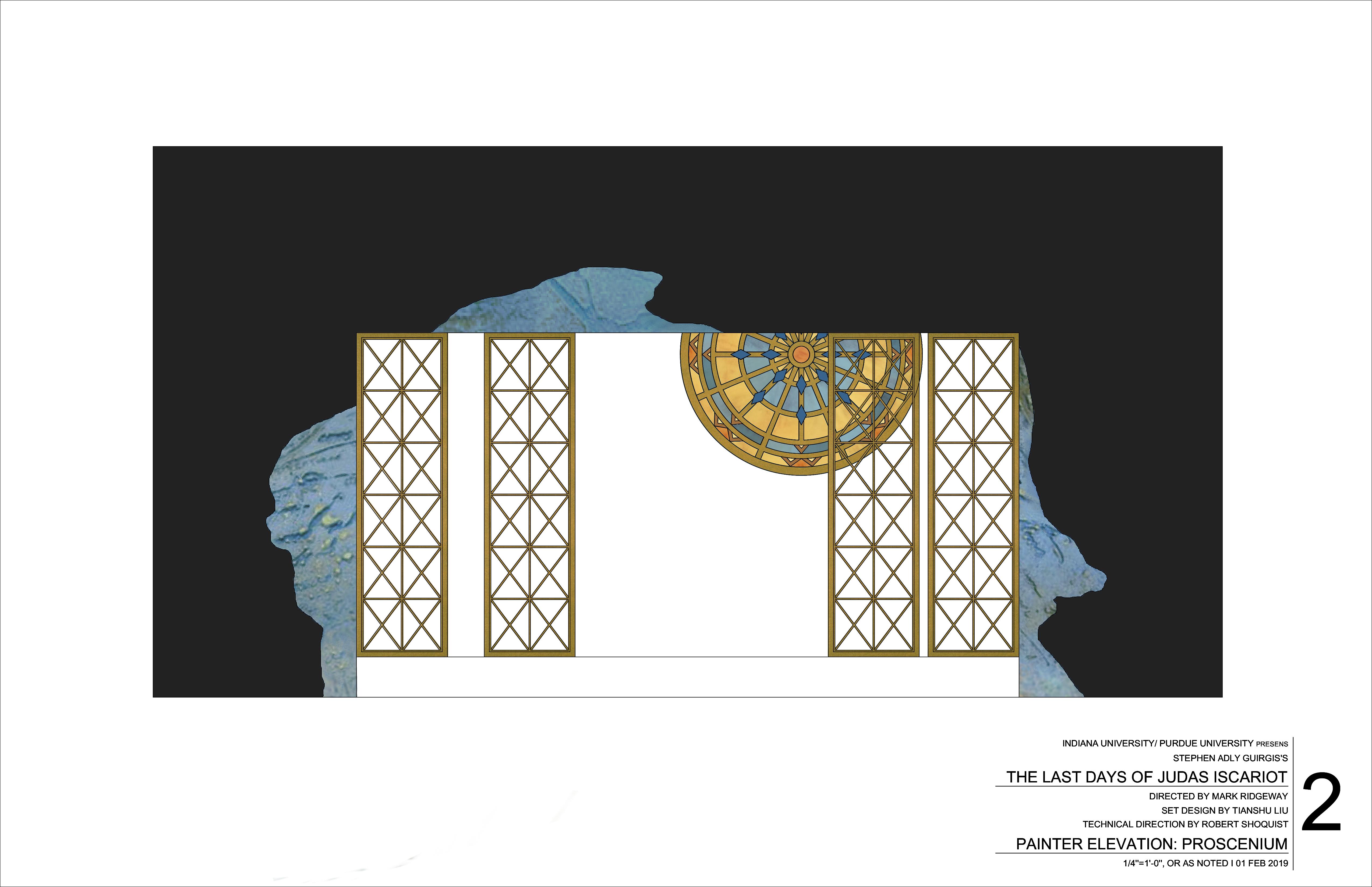 Proscenium Paint Treatments