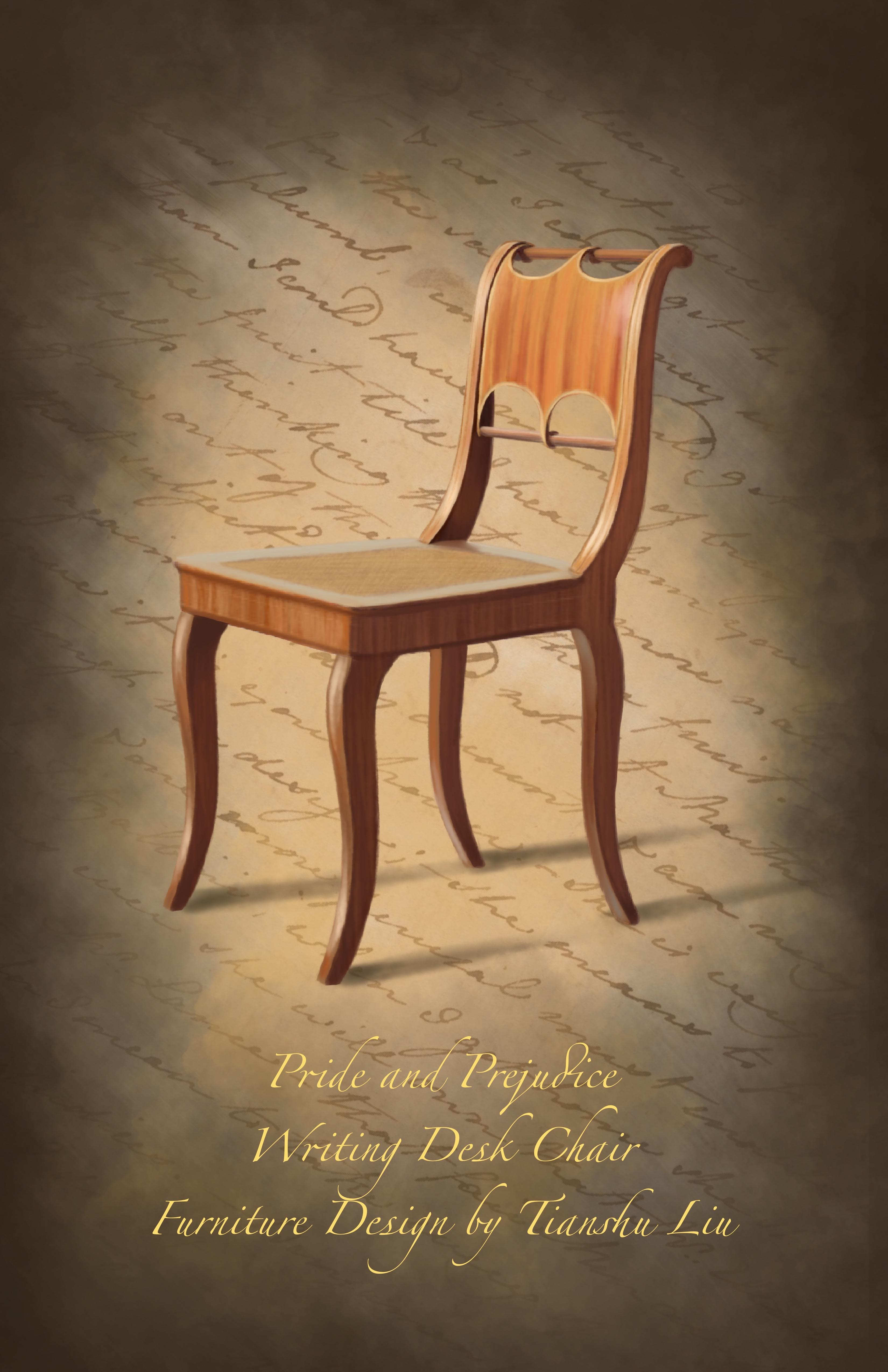 Chair Design for Pride & Prejudice