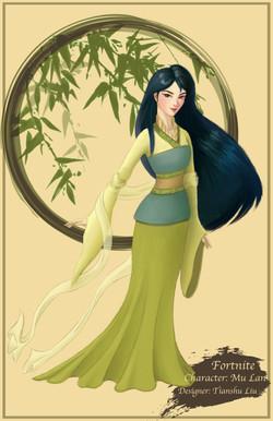 Character: Mu Lan (Basic)