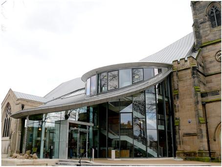 Stainless Steel roofing at St Barnabas Church Centre, Erdington