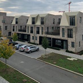 Aluminium roofing at North West Cambridge Development Phase 1