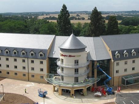 Zinc roofing at Drayton Manor Hotel, Tamworth
