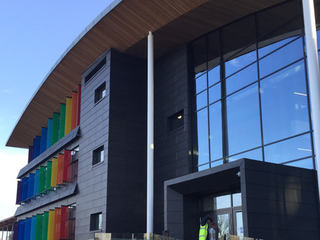 Zinc roofing and cladding at Maxwell Centre